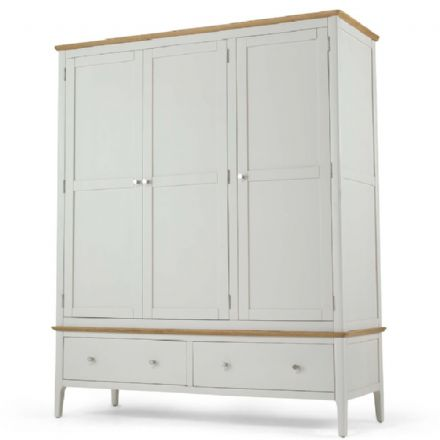 Kingston Painted Triple Wardrobe